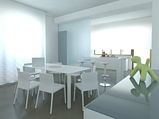 Modern Dining Room by SOA Spazio Oltre l'Architettura Modern