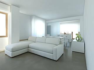 Salones de estilo moderno de SOA Spazio Oltre l'Architettura Moderno