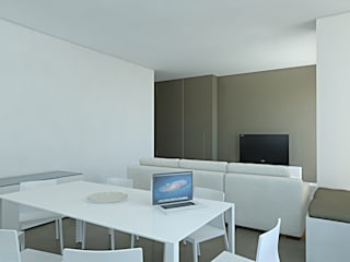 Modern living room by SOA Spazio Oltre l'Architettura Modern