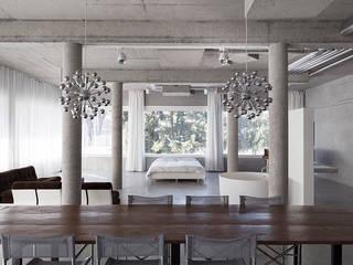 Salas de estar  por Studio KNACK , Minimalista