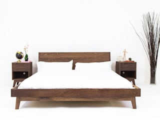Base, cabecera y buros che:  de estilo  por Mosaico muebles, Moderno