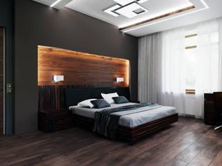 Спальня для мужчины Спальня в стиле минимализм от Myroslav Levsky Минимализм
