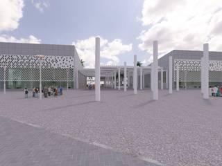 CCHI - Centro de Cultura e História Ipamerina: Centros de exposições  por Julio de Faria - Arquiteto e Urbanista