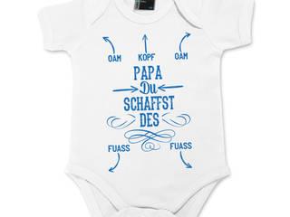 """Baby Body """"Papa, du schaffst des!"""":   von Geschenke-Manufaktur"""
