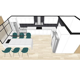 (한디자인)주방 가양동 자이아파트 프로젝트: 현대리바트의