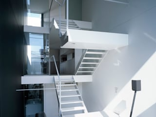 藤原・室 建築設計事務所 Modern Living Room White