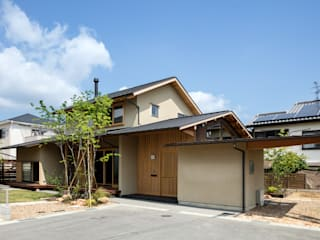 小笠原建築研究室 Single family home Solid Wood Beige