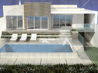 ATELIER OPEN ® - Arquitetura e Engenharia Moderne Pools