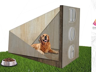 DOG HOUSE DESIGN :  de estilo  por 3HOUS