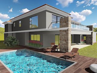 Modern houses by BlackStructure Modern