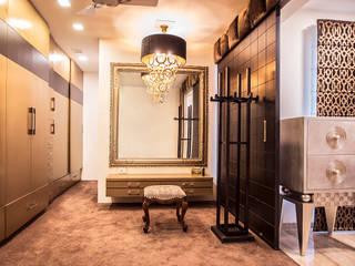 Walk-in-closet Modern dressing room by Studio An-V-Thot Architects Pvt. Ltd. Modern