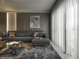 竹村空間 Zhucun Design Modern living room