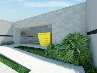Salão de Beleza Bom Retiro. Espaços comerciais minimalistas por OMA Arquitetura Minimalista