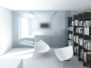 Modern Study Room and Home Office by SOA Spazio Oltre l'Architettura Modern