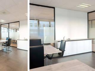 Kantoorruimte Rijswijk:  Kantoorgebouwen door Studio 8791 Interieurarchitecten