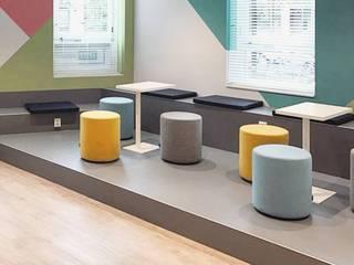 Kantoorruimte Den Haag:  Kantoor- & winkelruimten door Studio 8791 Interieurarchitecten