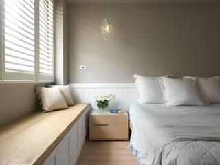 木皆空間設計 Dormitorios de estilo rural