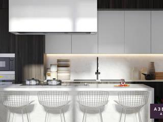 Частный дом «Природа внутри»: Кухни в . Автор – Студия дизайна 'Азбука Дом'