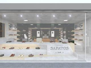 Loja Sapatos Club Lojas & Imóveis comerciais industriais por OMA Arquitetura Industrial