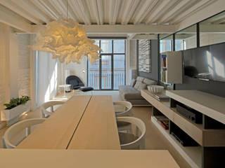 Departamento 15 Comedores modernos de Boué Arquitectos Moderno