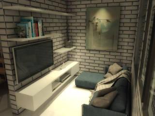 Casa 16 Salones minimalistas de BAUGËN STUDIO Minimalista