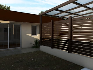 Casa IH Jardines minimalistas de BAUGËN STUDIO Minimalista