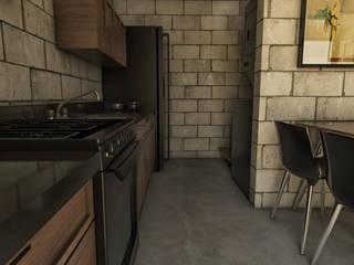 Casa 15.: Cocinas de estilo minimalista por BAUGËN STUDIO