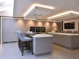 Mr and Mrs Walshaw's Kitchen Modern kitchen by Diane Berry Kitchens Modern