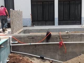CONSTRUCCIÓN DE ALBERCA EN TENANCINGO Albercas modernas de Albercas Aqualim Toluca Moderno