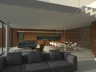 Casa AR:  de estilo  por Metamorfosis Arquitectura