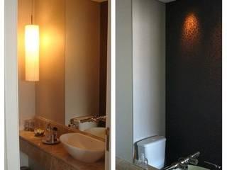 Apt. Morumbi - São Paulo - SP Banheiros modernos por LVM Arquitetura Moderno