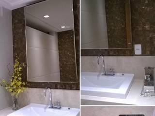 Apt. Manaíra - João Pessoa - PB Banheiros modernos por LVM Arquitetura Moderno