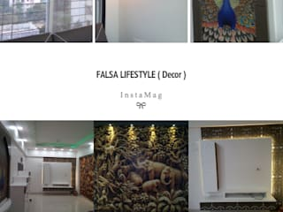 3BHK flat:   by Falsa lifestyle