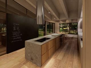 Reforma vivienda A&G Cocinas de estilo moderno de Cáliz Vázquez Arquitectura e Interiorismo Moderno
