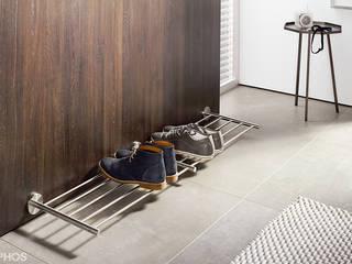 Schuhablage Wandmontage in Edelstahl Design:   von PHOS  Design GmbH