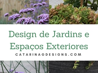 Modern garden by CatarinaGDesigns Modern