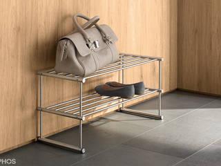 Schuhregal Edelstahl Design:   von PHOS  Design GmbH