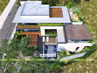 Modern home by UK DESIGN STUDIO - KIẾN TRÚC UK Modern