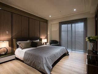 Bedroom by 立禾空間設計有限公司, Modern