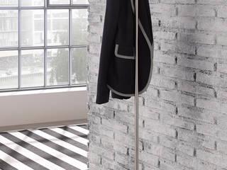 Kleiderständer und Garderobenständer in Edelstahl Design von PHOS Design GmbH Minimalistisch
