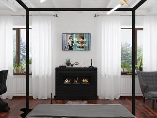 인더스트리얼 침실 by 3D GROUP 인더스트리얼