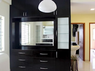 Crockery Cabinets Online India Asian style dining room by homify Asian Plywood