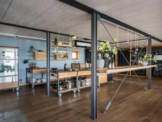 Bewegende Küche Industriale Gastronomie von Frau Caze Industrial