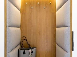 Modern Corridor, Hallway and Staircase by WOJSZ STUDIO Modern