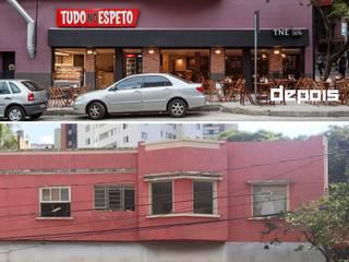 Nhà hàng theo Aptar Arquitetura, Mộc mạc