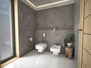 Baños de estilo moderno de José D'Alessandro Moderno