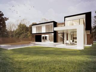 Casa Mana: Casas de estilo  por Metamorfosis Arquitectura