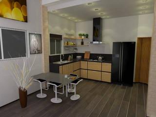 Cocinas de estilo moderno de José D'Alessandro Moderno