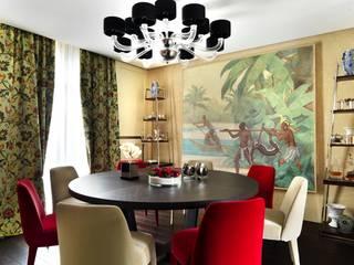 Daniele Franzoni Interior Designer - Architetto d'Interni Classic style dining room Wood Red