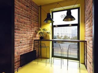 Дизайн кафе в стиле лофт:  в . Автор – Zooi